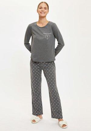 SET - Pyjamas - anthracite