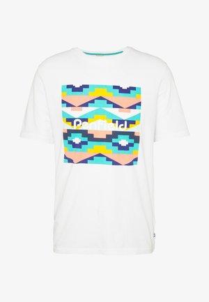 SANDTOFT  - Print T-shirt - white