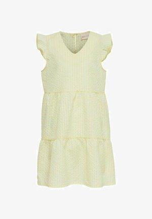 Day dress - mellow yellow