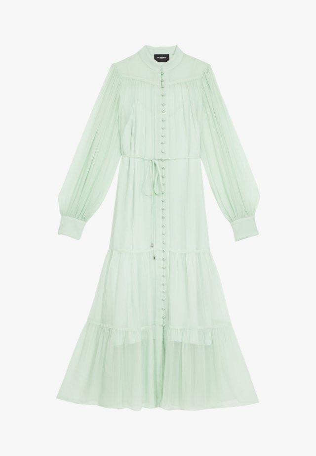 Długa sukienka - mint