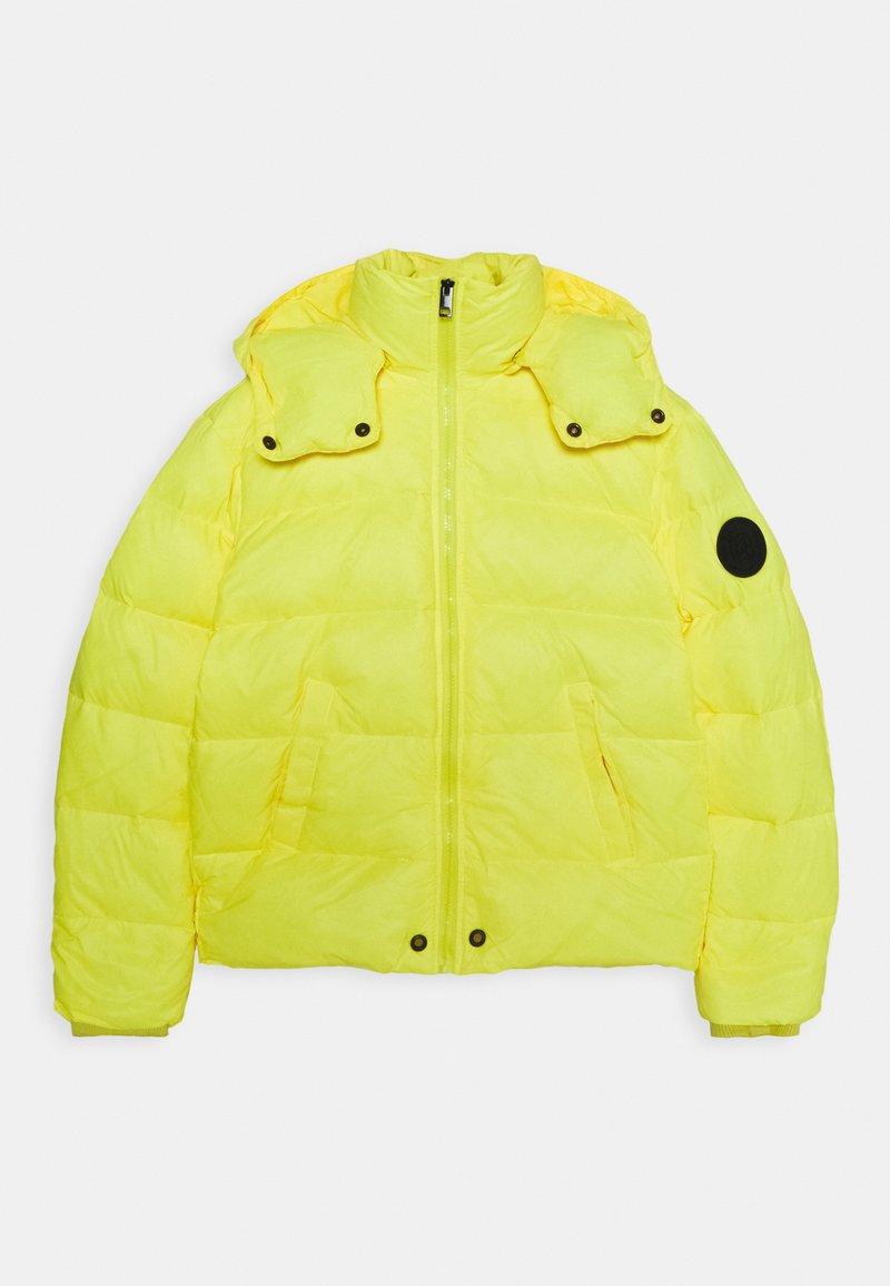 Diesel - JSMITHYAWH GIACCA - Bunda zprachového peří - super bright yellow