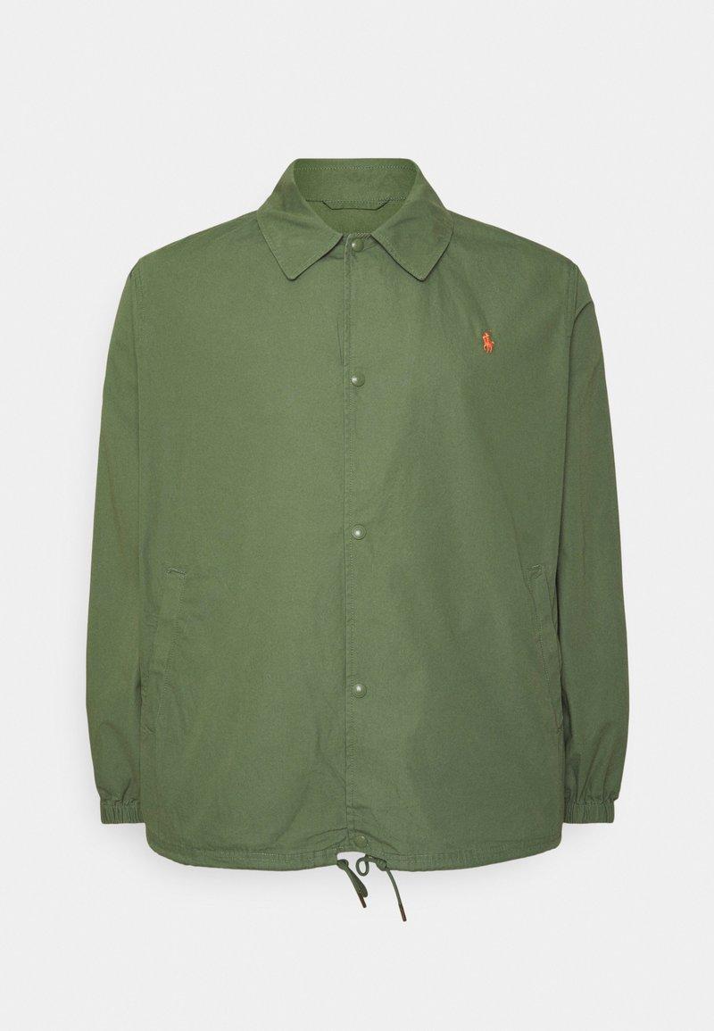 Polo Ralph Lauren Big & Tall - COACH'S JACKET - Summer jacket - olive
