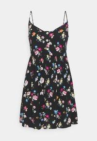 Even&Odd Petite - Kjole - black/multi-coloured - 0
