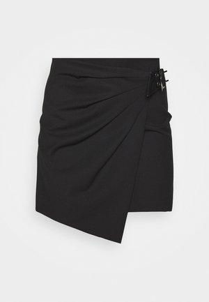 GONNA SKIRT - Mini sijonas - nero