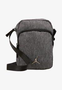 AIRBORNE CROSSBODY UNISEX - Across body bag - carbon heather