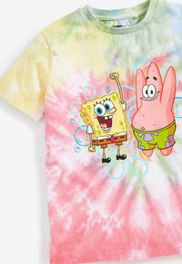Next - SPONGEBOB  - Print T-shirt - pink - 2