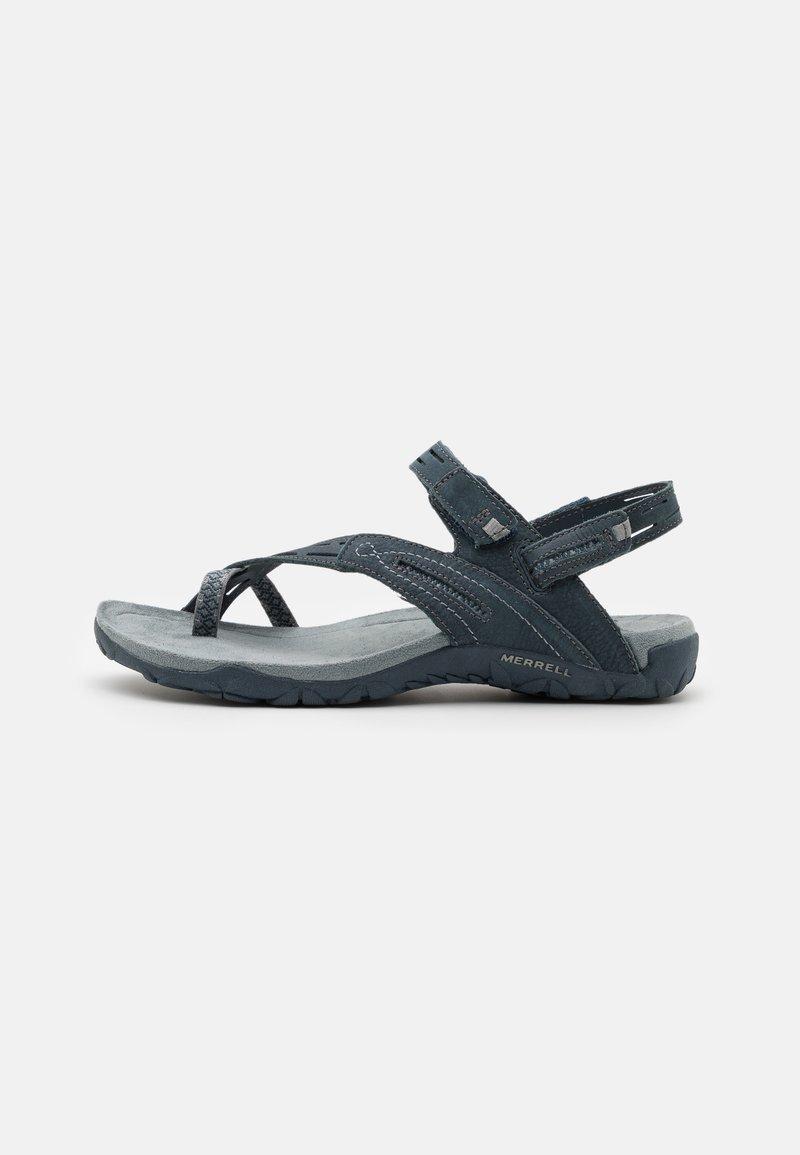 Merrell - TERRAN CONVERT II - T-bar sandals - slate/black