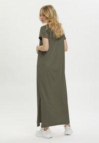 Kaffe - KACELINA - Maxi dress - grape leaf - 1