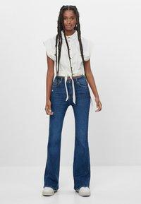 Bershka - Jeans bootcut - blue - 1