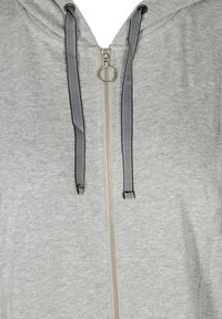 Zizzi - Zip-up hoodie - light grey - 4