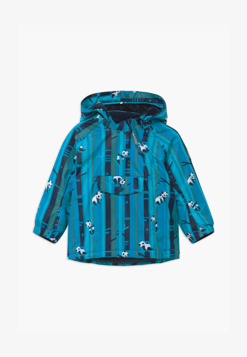 Color Kids - STRIPE UNISEX - Snowboard jacket - blue