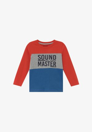 KIDS COLOURBLOCK - Long sleeved top - ocean