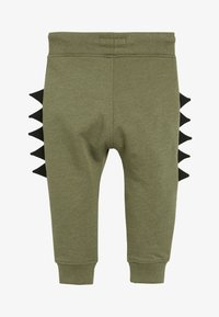 Next - KHAKI DINO SPIKE JOGGERS (3MTHS-7YRS) - Tracksuit bottoms - green - 1
