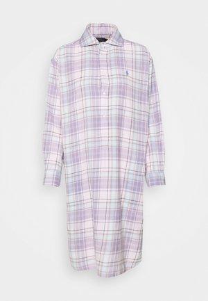 LONG SLEEVE DAY DRESS - Košilové šaty - pink/blue multi