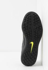 Nike Performance - PHANTOM ACADEMY TF - Kopačky na umělý trávník - black/volt - 5