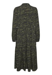 Kaffe - KAKIRALA - Shirt dress - dark green zebra print - 5