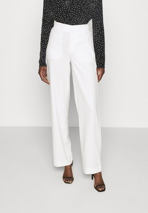WIDE LEG - Pantaloni - transition cream