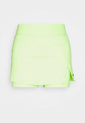 SKIRT  - Falda de deporte - lime glow/black