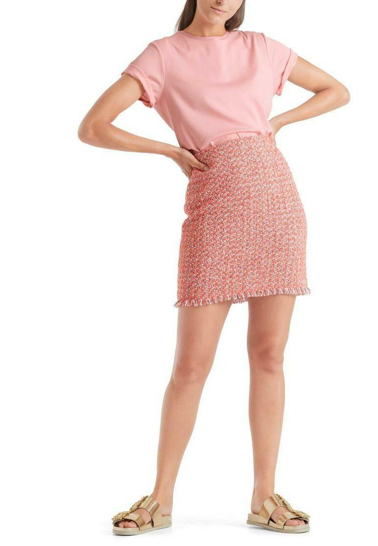 Marc Cain - Basic T-shirt - candy pink