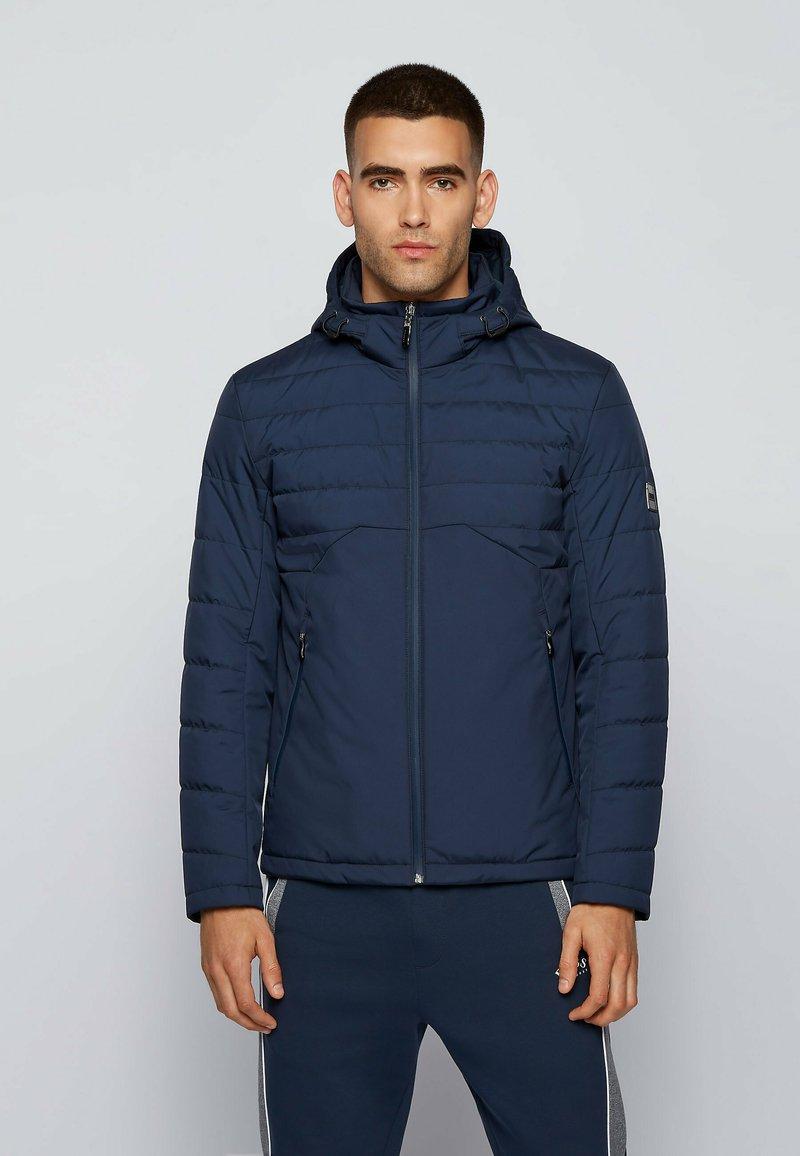 BOSS - J_PANEL 2 - Down jacket - dark blue