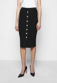 Pinko - PATTINAGGIO GONNA - Pouzdrová sukně - black - 0