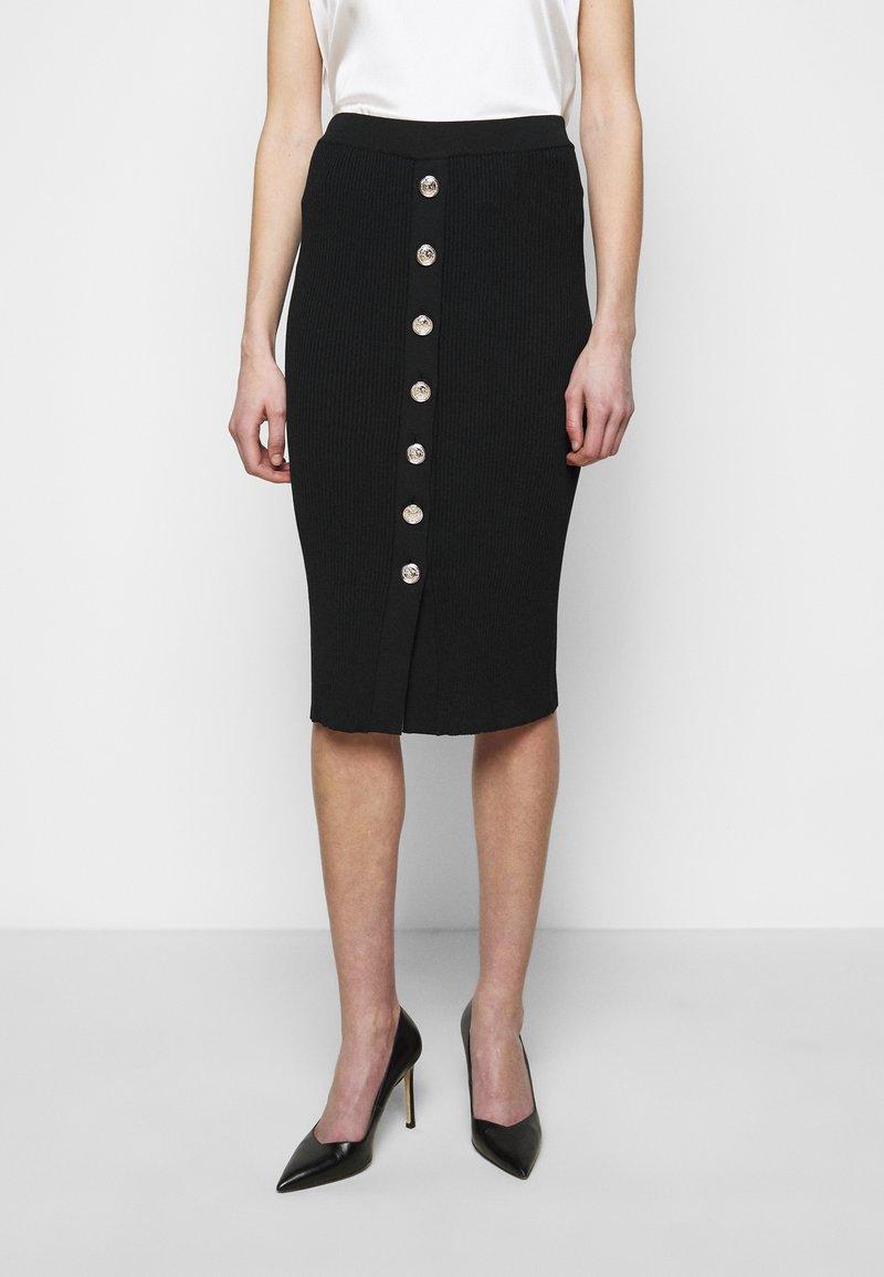 Pinko - PATTINAGGIO GONNA - Pouzdrová sukně - black