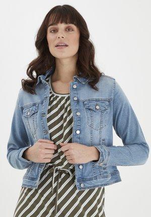 Denim jacket - clear blue denim