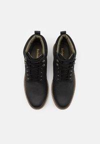 Barbour - WOLSINGHAM - Lace-up ankle boots - black - 3