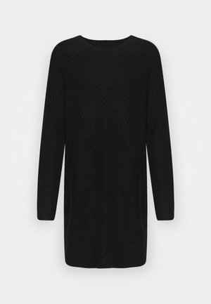 ONLCAROL  - Strikket kjole - black