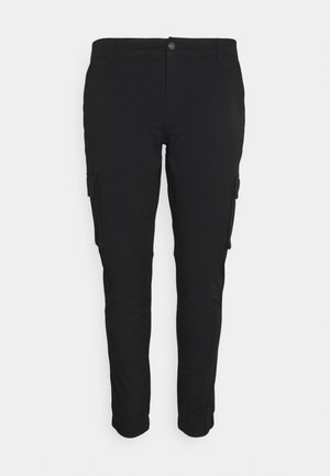 PLUS PANT - Cargo trousers - black
