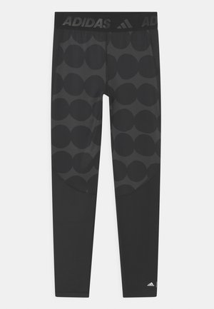 Leggings - carbon/black