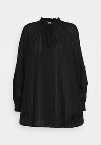 ARISSA - Button-down blouse - black