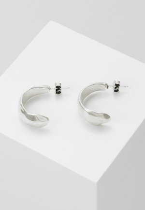 MY NATURE CRESCENT EARRING - Korvakorut - silver-coloured