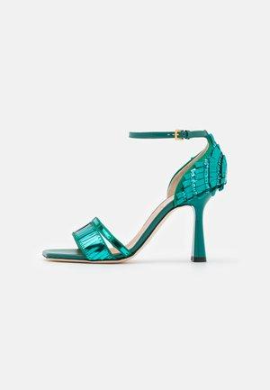 HELLED - High heeled sandals - green