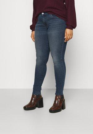 CARSALLY LIFE  - Jeans Skinny Fit - blue black denim