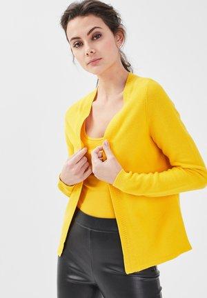 Cardigan - jaune citron