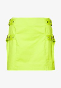 The Ragged Priest - SKIRT SIDE BUCKLES - Mini skirt - lime - 0