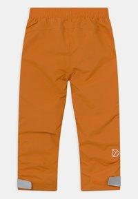Didriksons - NOBI KIDS UNISEX - Rain trousers - burnt glow - 1