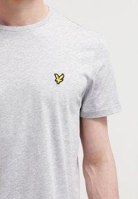 Lyle & Scott - T-shirt - bas - light grey marl - 4