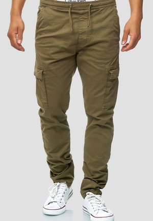 BROADWICK - Cargo trousers - army