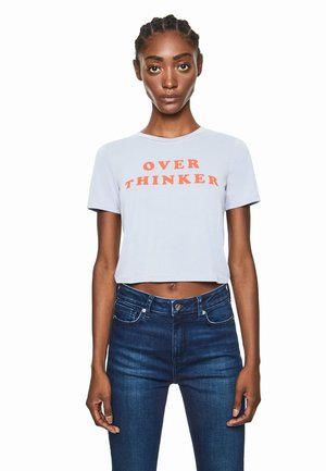 DUA LIPA X PEPE JEANS - Print T-shirt - white