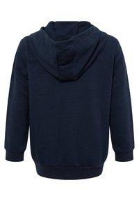 DeFacto - Zip-up hoodie - navy - 1