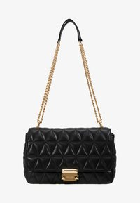 MICHAEL Michael Kors - SLOAN CHAIN - Across body bag - black - 5