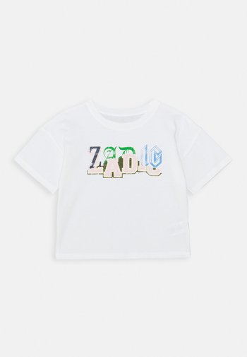 SHORT SLEEVES - T-shirts med print - off-white