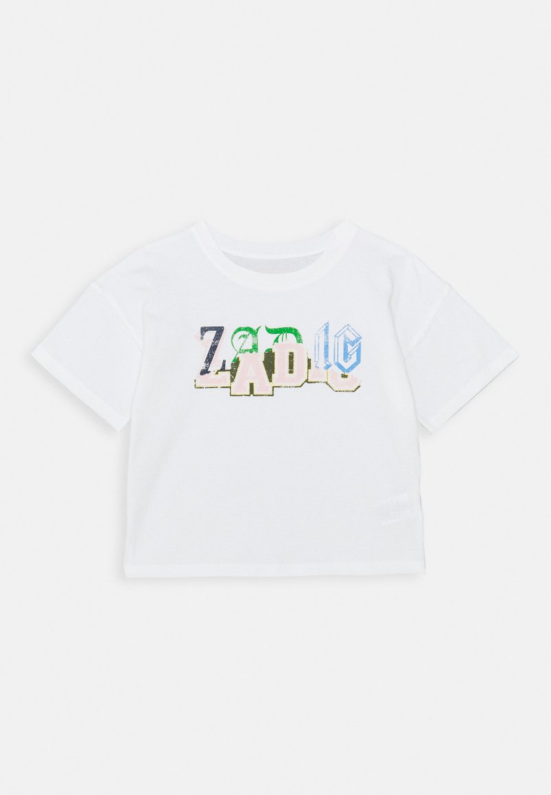 Zadig & Voltaire - SHORT SLEEVES - Print T-shirt - off-white