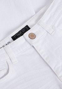 Next - Straight leg jeans - white denim - 2