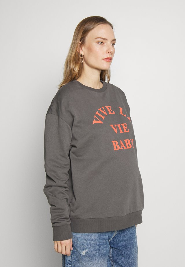 VIVE LA VIE BABY - Bluza - washed black