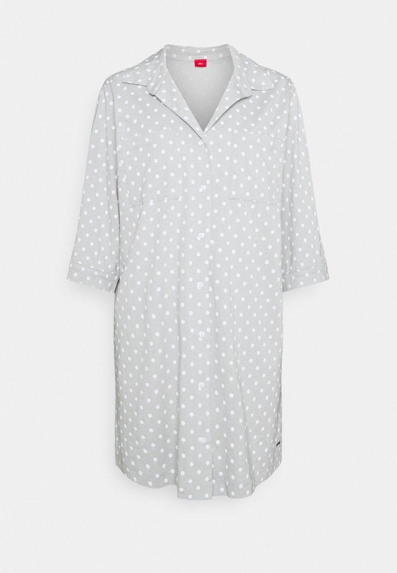 s.Oliver - NIGHTGOWN - Noční košile - grey