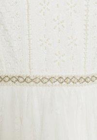 YAS - YASBRIZA STRAP DRESS - Společenské šaty - star white - 5