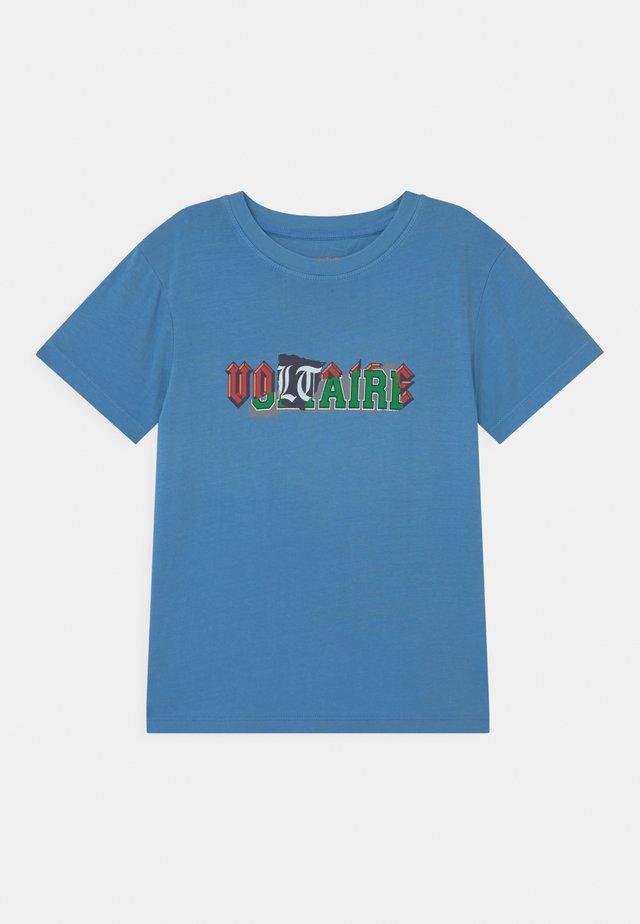 SHORT SLEEVES - Print T-shirt - bleu marin